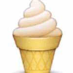 ソフトクリーム 絵文字 衝撃