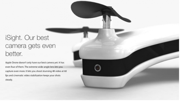 Apple Drone デザイン コンセプト