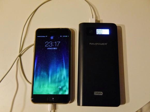 RAVPowerのモバイルバッテリーRP-PB26
