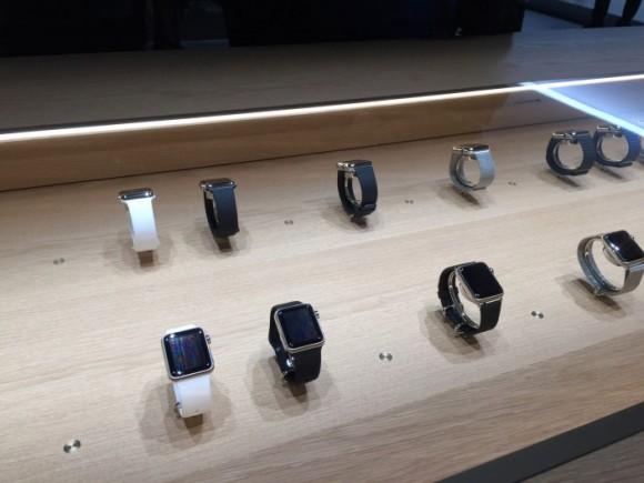 Apple Watch 店頭 試着