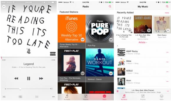 Apple iOS8.4