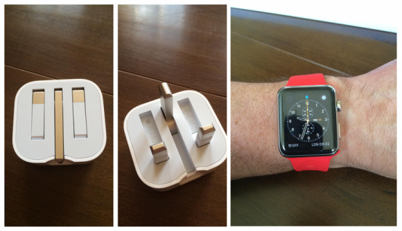 Folding-UK-Plug-and-Red-Apple-Watch