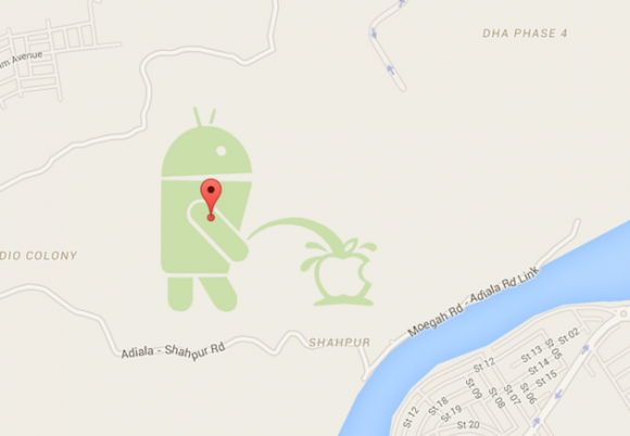 GoogleMapEasterEgg