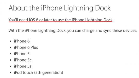 iPhone6/6 Plus iPhone Lightning Dock
