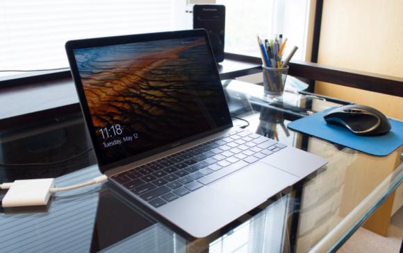 新型MacBook  Windows10