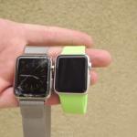 Apple Watch ディスプレイ 落下テスト