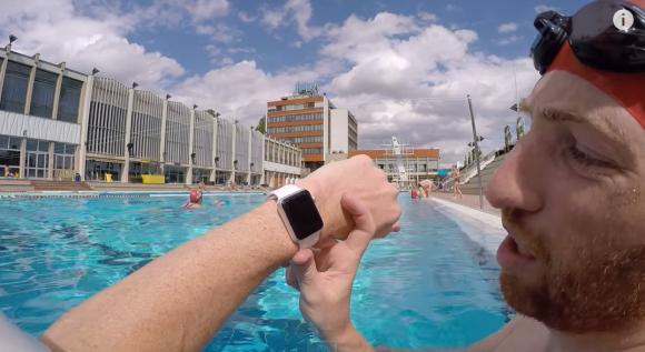 Apple Watch 耐水 テスト