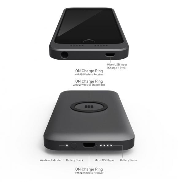 ワイヤレス充電 iPhone ケース