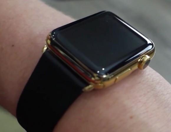 apple watch ゴールド加工の仕上がりはedition並み iphone mania