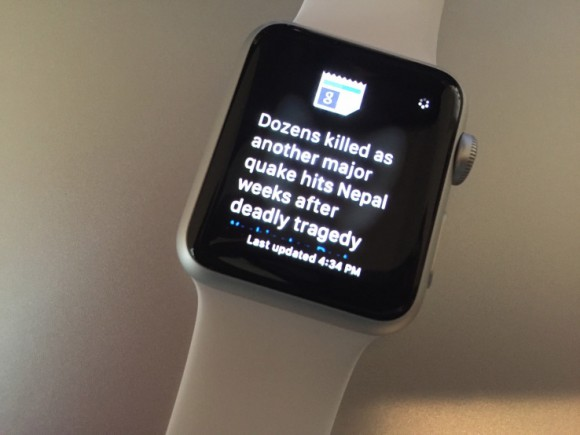 apple watch google news
