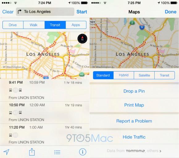 Apple iOS9 Apple Maps