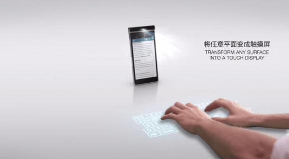 lenovo キーボード スマートフォン 投影