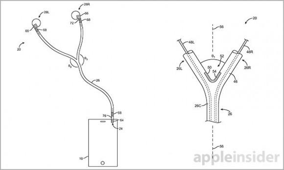 Apple イヤホン 新特許