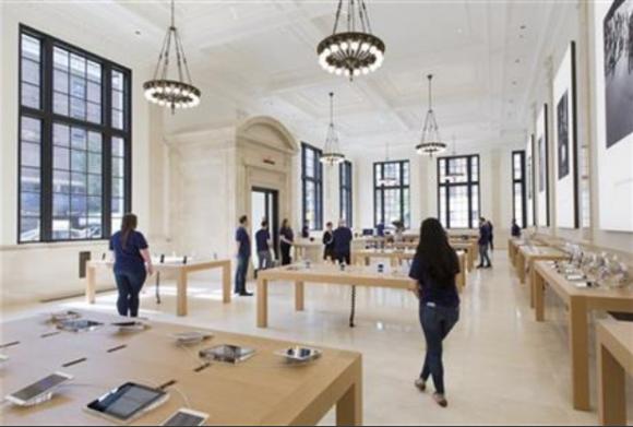 apple store ニューヨーク