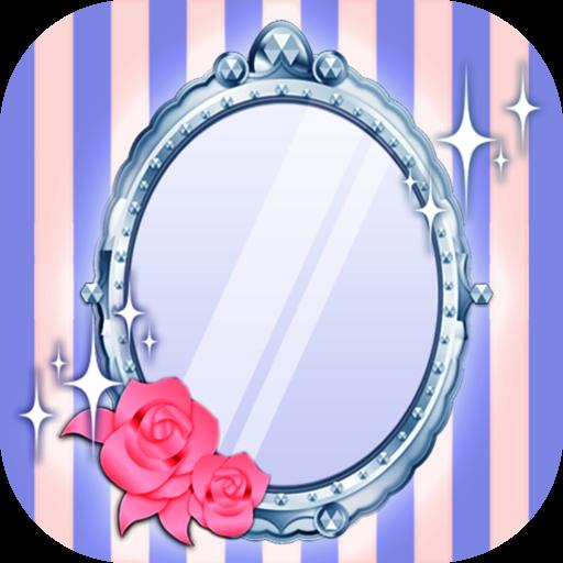 かわいいミラー 便利な鏡アプリ カガミル