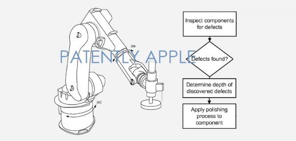 アップル 特許 5軸式ロボット・アーム