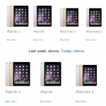 Apple Online Store iPad