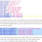 iMac ソースコード 記述
