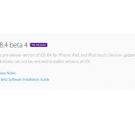 iOS8.4beta4