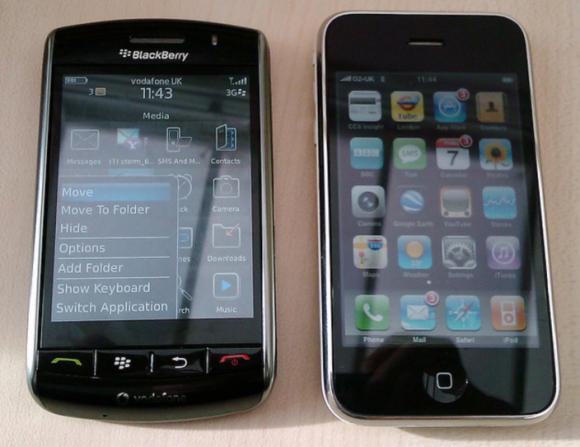 iPhoneVSBlacberry