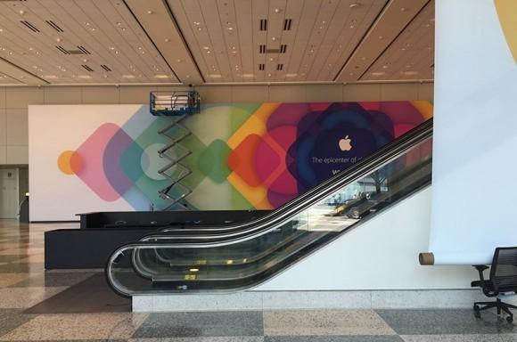WWDC2015 会場準備