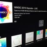 wwdc2015 Apple TV ストリーミングチャンネル