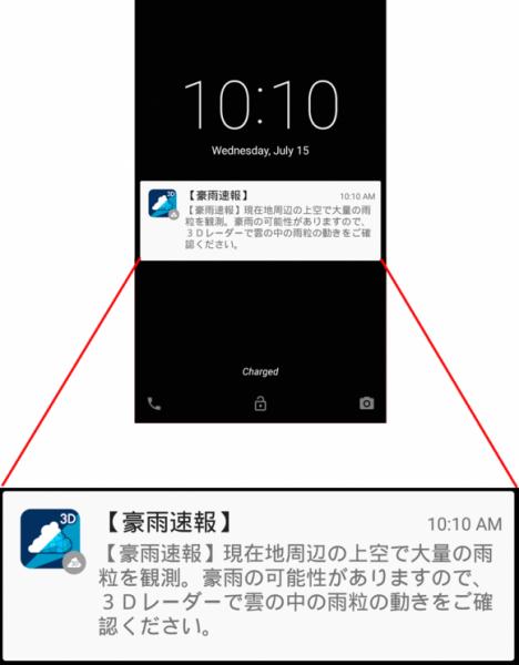 2.豪雨速報