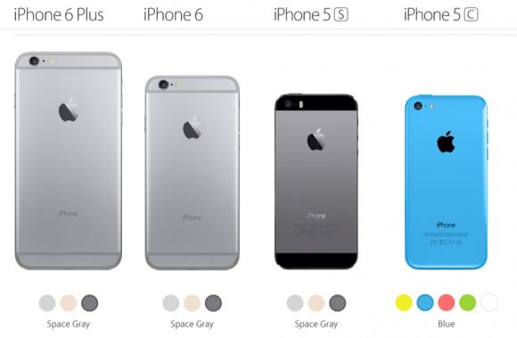 iPhoneシリーズ比較