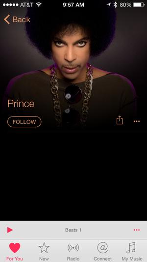 PrinceAppleMusic