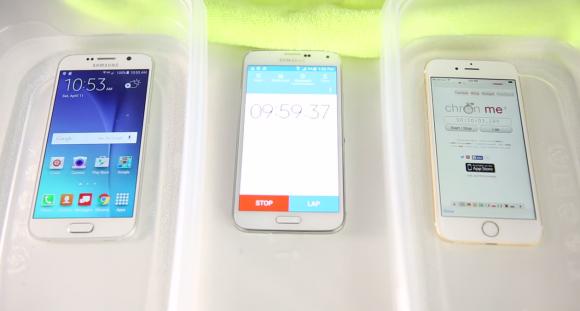 iPhone6 浸水実験