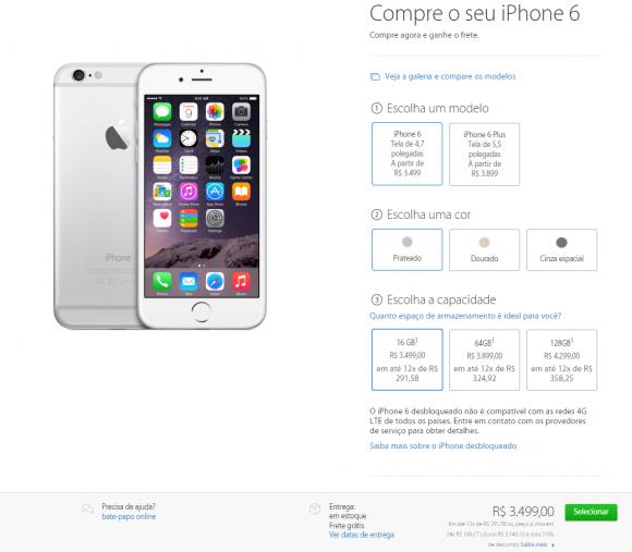 iPhone6 ブラジル