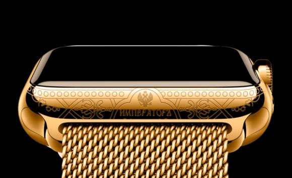 38万円でゴールドのapple watchが入手可能 ただしプーチンのサイン入り