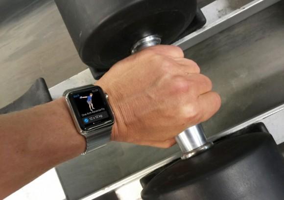 Apple Watch 筋トレ ダンベル