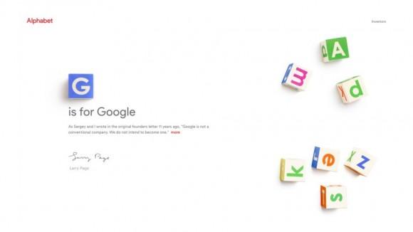 アルファベット グーグル