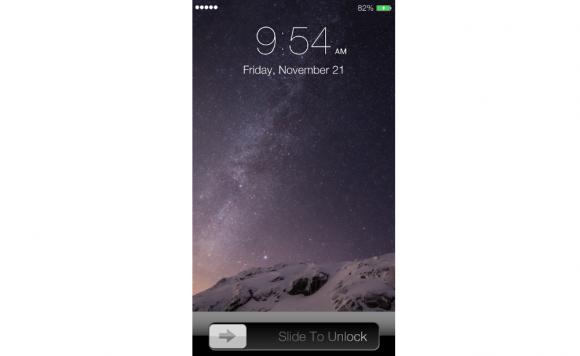iphone6 スライド