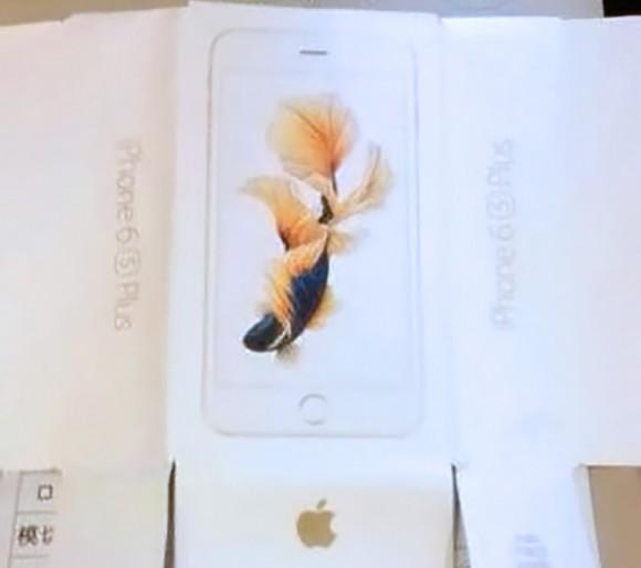 iPhone6s Plusのパッケージ