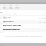 Apple iCloud 復元