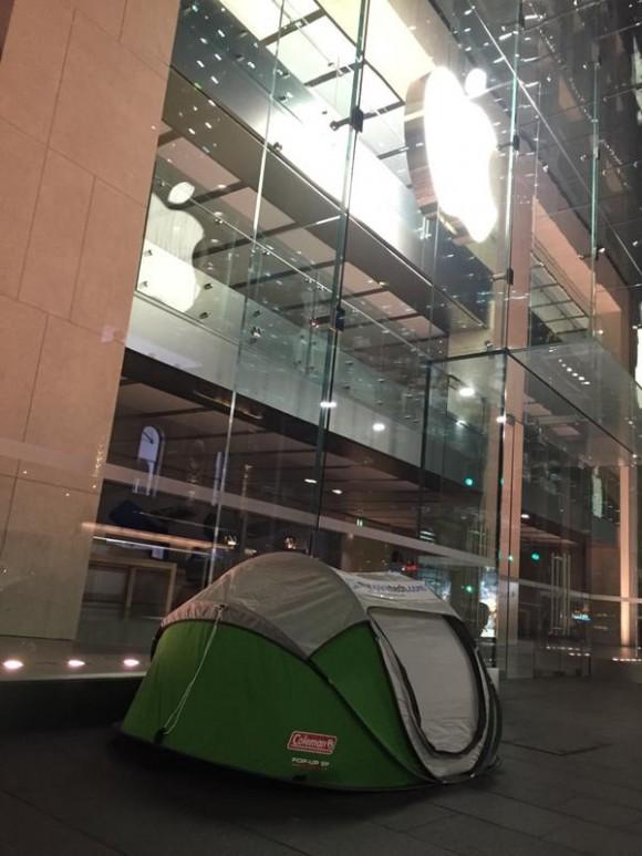 Apple Store iPhone6s 行列