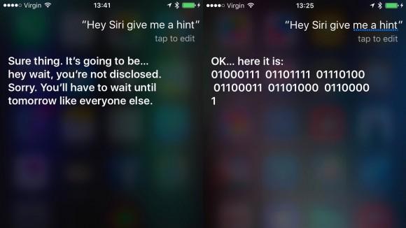 Siriの新ヒント