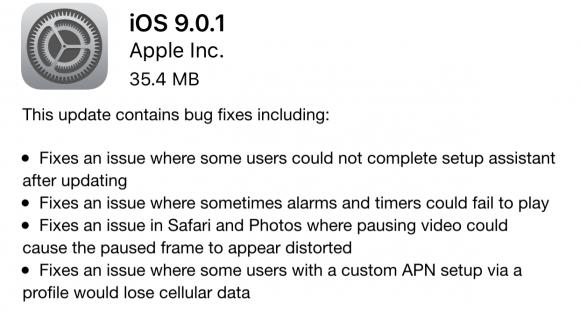 iOS9..0.1