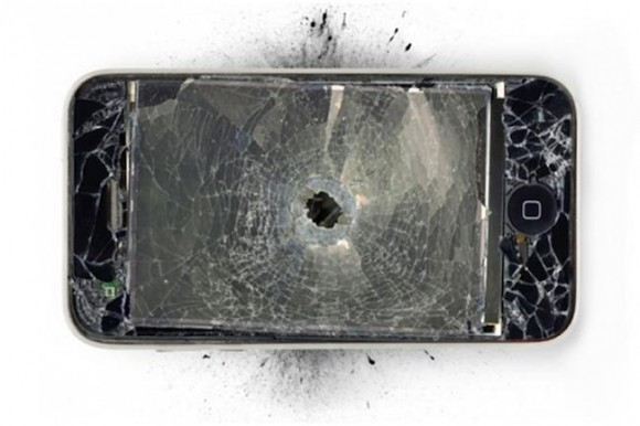 iphone 銃撃