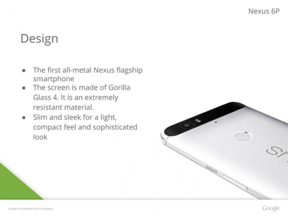 Nexus 6P リーク