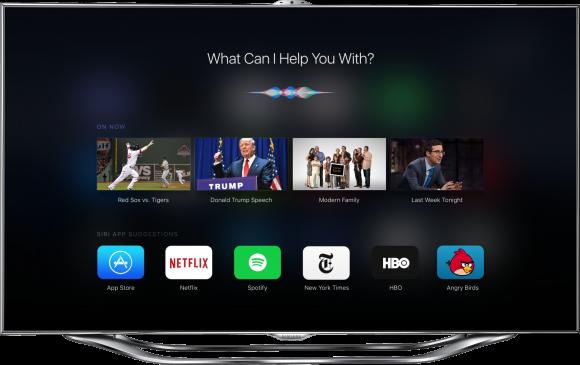 新型Apple TV、SiriやApp Storeに対応した美しいコンセプトデザイン