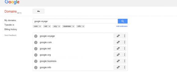 google ドメイン