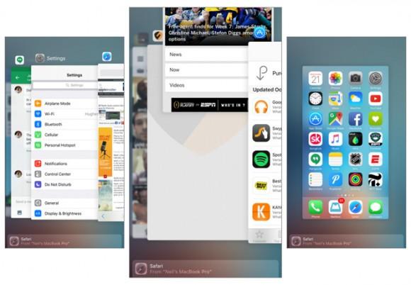 Appスイッチャー iOS iPhone