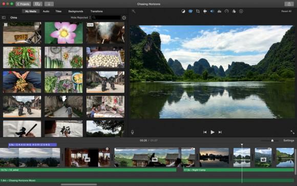 iMac iMovie