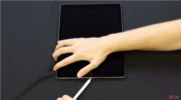 Apple Pencil 強度テスト