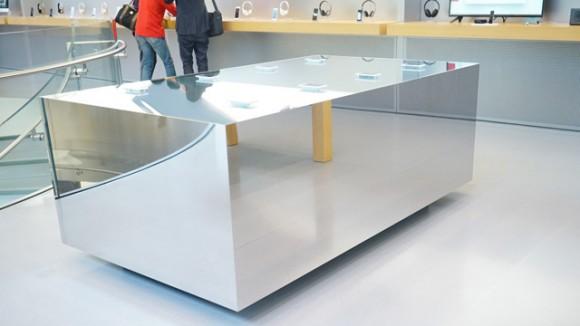 3D Touch体験テーブル 表参道 ギズモード・ジャパン
