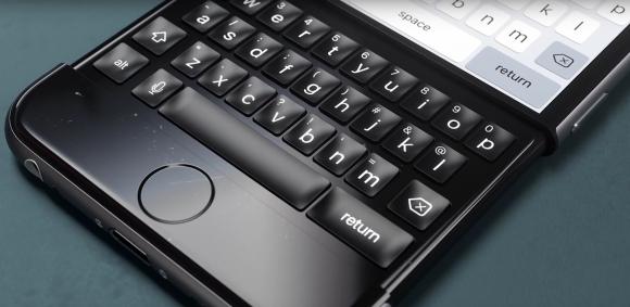 iphone キーボード