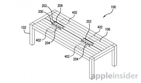 ジェスチャーコントロール可能なテーブル